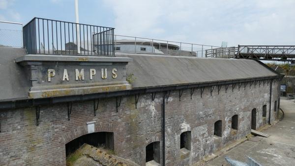 Forteiland Pampus gaat duurzaam vooruit met zijn historie