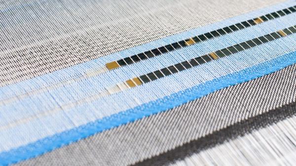 Textiel dat zonne-energie opwekt