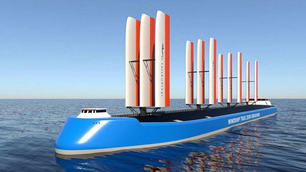 Brits bedrijf onthult emissievrij scheepsconcept