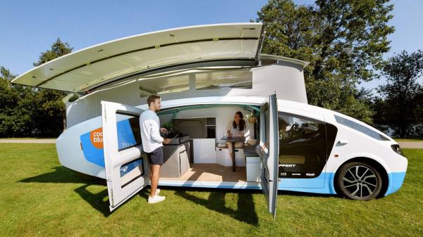 Solar Team Eindhoven onthult rijdend huis op zonne-energie