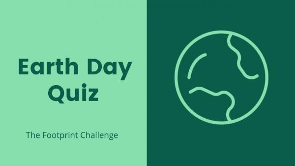 Speel de Earth Day Quiz