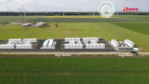 De grootste batterij van Nederland komt in Lelystad