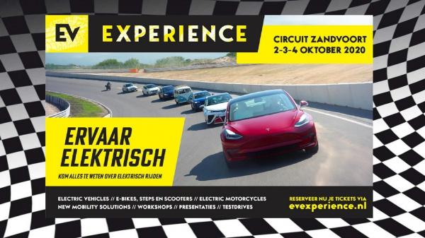 EV Experience 2 t/m 4 oktober 2020