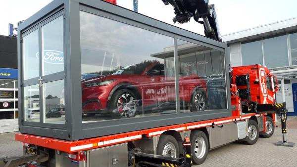 Dit is de nieuwe elektrische Mustang Mach-E