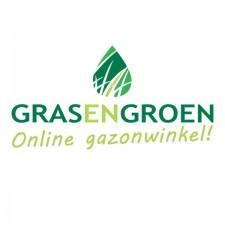 Gras en groen graszoden Belgie