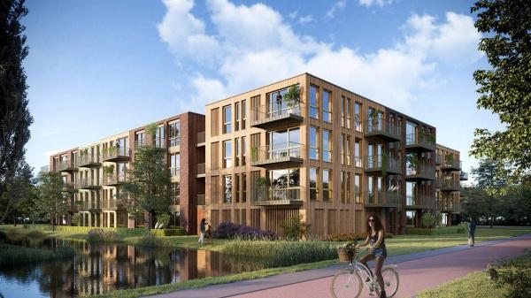 Starthandeling uniek houten woongebouw in Monnickendam