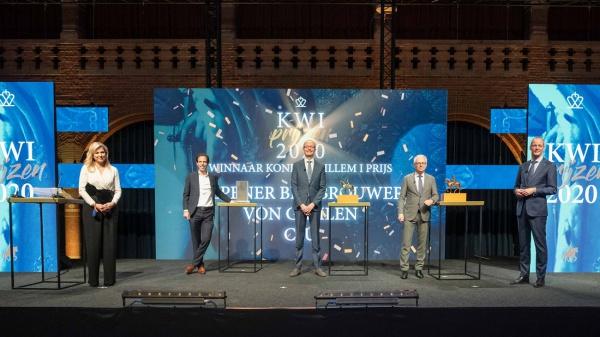 Koningin Máxima maakt Koning Willem I Prijzen bekend
