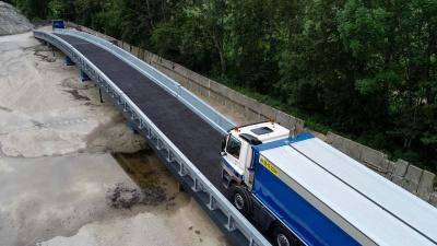 Innovatieve hulpbrug biedt oplossing voor verkeershinder bij wegwerkzaamheden