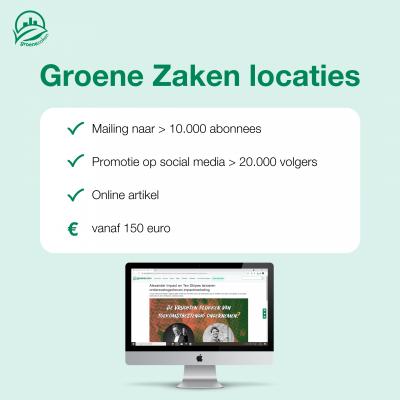 Groene Zaken Locaties
