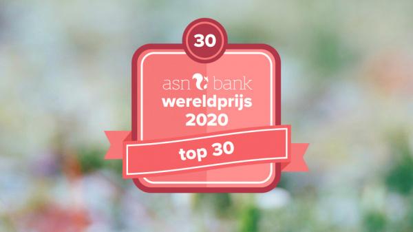 Dit is de top 30 van de ASN Bank Wereldprijs 2020