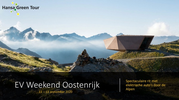 EV Weekend naar Oostenrijk 11-13 september 2020