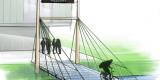 Duurzame modulaire fietsbrug van gerecyclede kunststoffen?
