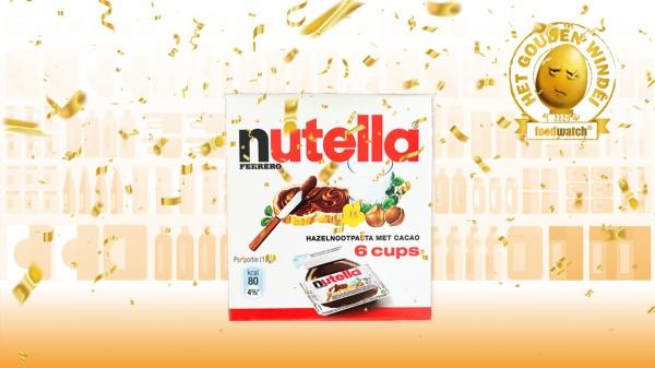 Nutella Cups wint Gouden Windei 2020