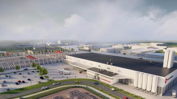 In deze fabriek worden circulaire en duurzame woningen geproduceerd