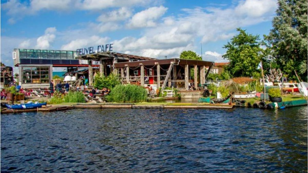 De Ceuvel: circulaire stadse oase als decor van jouw bijeenkomst