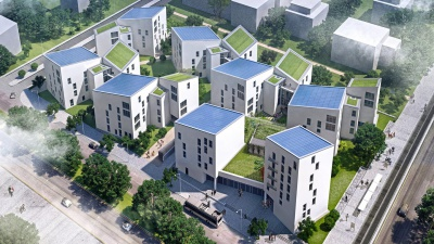 Het eerste Smart City-gebied in Berlijn op basis van Panasonic technologie