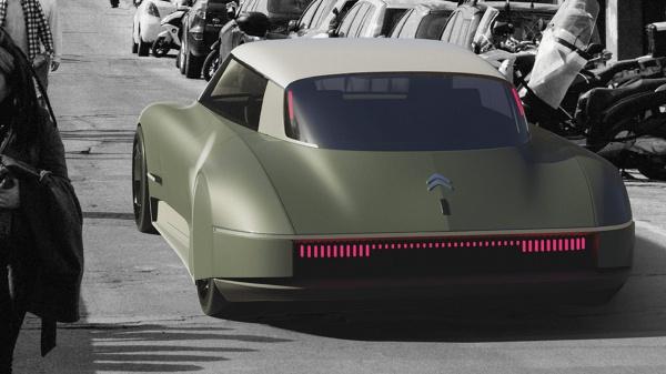 Citroën DS opnieuw ontworpen voor de 21ste eeuw