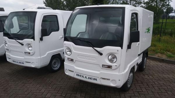 Bellier E-Docker ideaal voertuig voor vervoer op Campus of Instelling