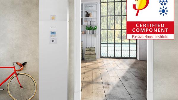 Panasonic Aquarea-units gecertificeerd als Passive House Component