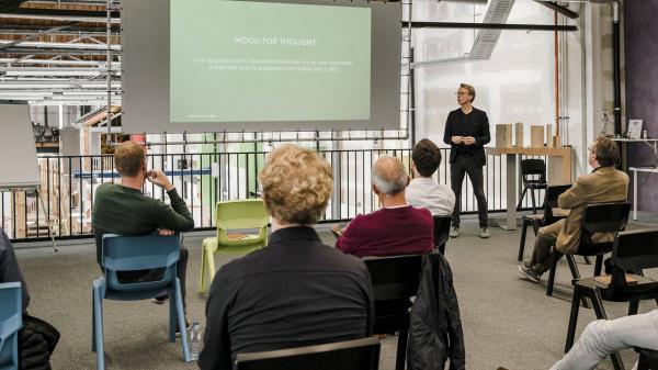 Tomorrow's Timber Talk in de Gasfabriek - 28 oktober 2021
