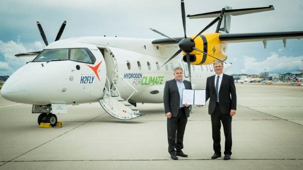 Duitse bedrijven werken aan waterstofvliegtuig
