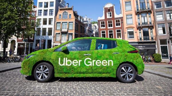 Uber wordt emissievrij mobiliteitsplatform